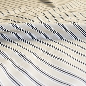 Bay Stripe Charcoal