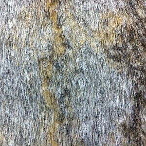 Faux Fur – Brown Italian Wolf