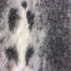 Faux Fur – Grey Lynx