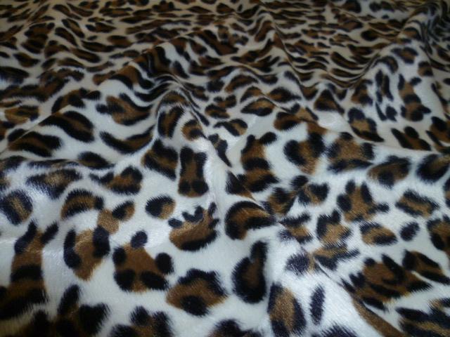 Ponyskin – Cream Leopard