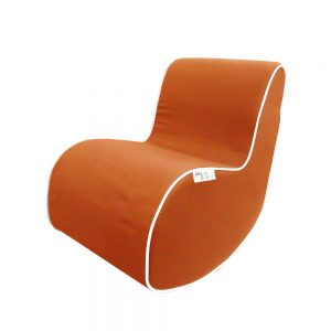 orange-rocking-chair